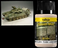 Vallejo Weathering Effects - Matschspritzer - Light Brown