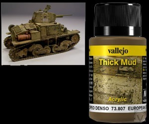 Vallejo Weathering Effects - Dicker Matsch